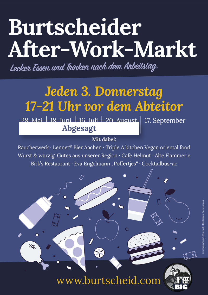 Plakat After Work Markt 2020