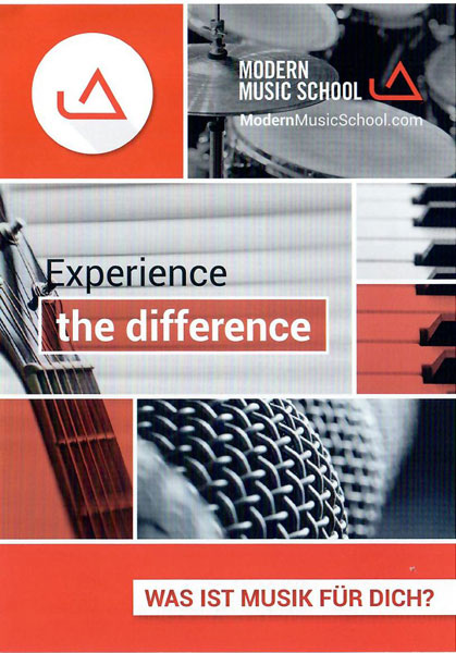 Modern Music School web